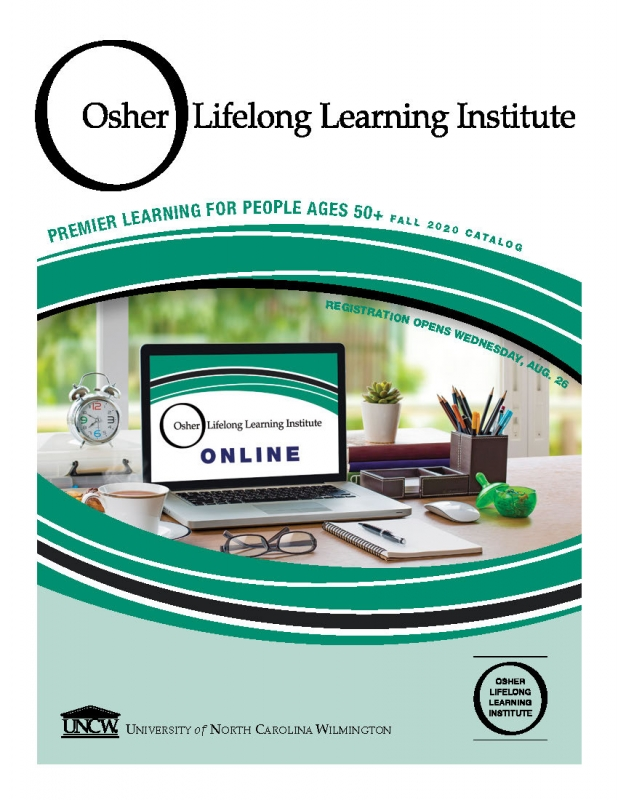 Sign up for Osher Lifelong Learning Institute from UNCW