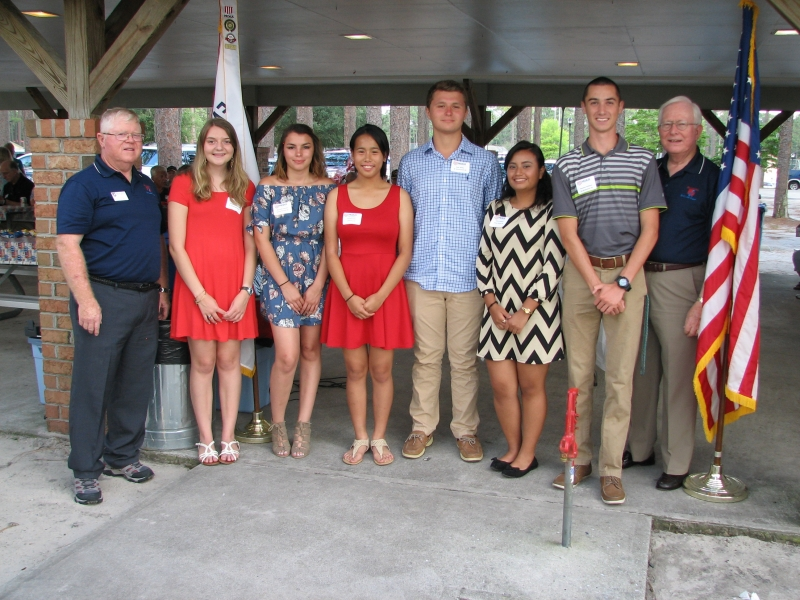 2017 JROTC SCHOLARSHIP Winners